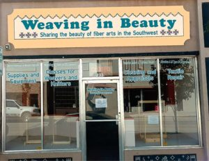 Weaving in Beauty brick and mortar store